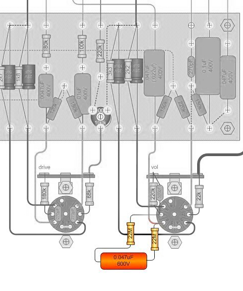 dumble reverb schematic two rock reverb schematic